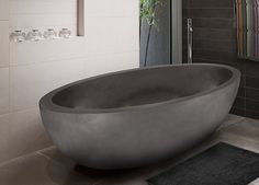 Lucius Polished Moon White Marble Tub Oval Natural Stone Bathtub Sentosa Collection Apaiser Love It intended for [keyword Bathtub Inspiration, Concrete Bathtub, Bathtub, Marble Tub, Free Standing Bath, Bathroom Design Luxury, Stone Bathtub, Free Standing Bath Tub, Bathroom