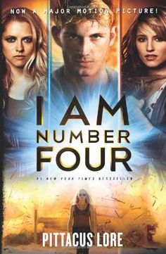 I Am Number Four by Pittacus Lore. $17.99 #books #movies