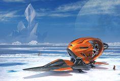Scott Robertson's Sci-Fi Arctic Explorers