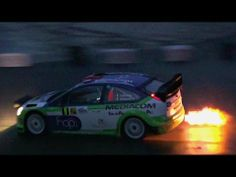 ▶ WRC Cars in Action at Night! - YouTube