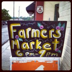 Don't forget, Farmers Market tonight (& every Friday) in Artisan Alley, 6-9pm. Rain or shine! http://deland365.com