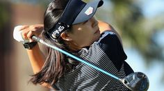 In Gee Chun of the Republic of Korea plays a tee shot on the 11th hole during the first round of the LPGA LOTTE Championship Presented By Hershey