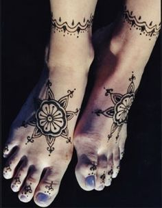 simple henna, love this