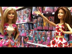 This Toys Dolls Parody Video Shows BARBIE And Her Friend TERESA Going TOY HUNTING At R Us