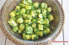 Sarımsaklı Kabak Salatası