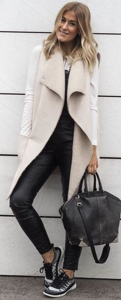 Lene Orvik Everyday Sneakers Fall Street Stye women fashion outfit clothing stylish apparel @roressclothes closet ideas