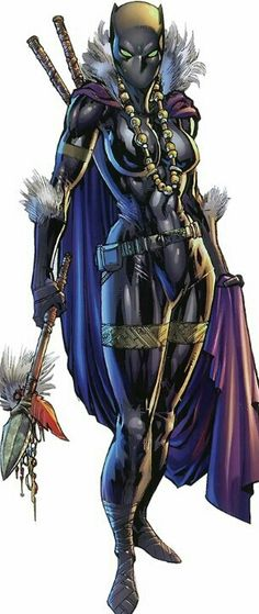 Shuri aka Black Panther  The Princess ofWakanda, sister of the Black Panther, and an heiress to the throne of Wakanda.