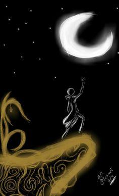 E a luz da lua iluminará seu caminha  And the moonlight illumined his way