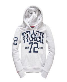 Superdry Sudadera con capucha Track And Field