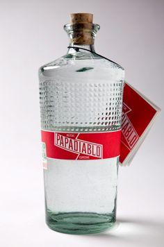 Las mejores botellas de mezcal. Mezcal papadiablo