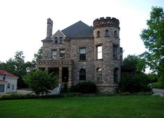 #ridecolorfully The Castle, Heritage Hill Historic District, Grand Rapids, MI