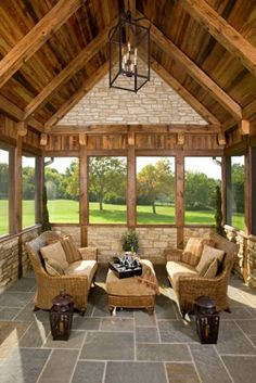 The amazing Front Porch Design