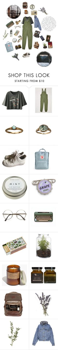 """""""From city streets, to mountain sides"""" by myworldinmind ❤ liked on Polyvore featuring Shades of Grey by Micah Cohen, Polaroid, NIKE, Fjällräven, CB2, ZeroUV, Madewell, Moore & Giles and Fear of God"""