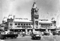 Chennai also known as Madras is the capital city of the Indian state of Tamil Nadu. Located on the Coromandel Coast off the Bay of Bengal, it is the biggest Rare Photos, Old Photos, Rare Pictures, Vintage Photos, Chennai, Madras City, India Holidays, Bay Of Bengal, Mysore