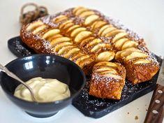 Siken omenakakku hipoo täydellisyyttä! Vinkki, joka parantaa lähes kaikkien leipomusten makua - Ajankohtaista - Ilta-Sanomat Cooking Tips, Cooking Recipes, Sweet Pastries, Something Sweet, Pretzel Bites, Sweet Tooth, Bakery, Deserts, Food And Drink