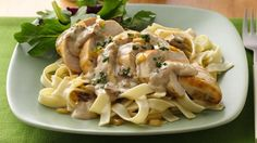 Take a short-cut to Italy with packaged fettuccine Alfredo turned into a creamy chicken dish with sun-dried tomatoes and fresh basil.