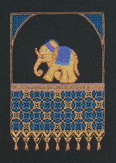 http://www.coatscrafts.co.uk/Stitching/Projects/cross_stitch_elephant.htm