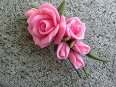 cold porcelain | Trina's Trinketts: Etsy Finds Friday - Cold Porcelain Roses