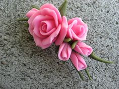 cold porcelain | Trina's Trinketts: Etsy Finds Friday - Cold Porcelain Roses