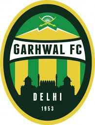 Garhwal FC of Delhi, India crest. Football Mexicano, International Football, Soccer, Delhi India, Crests, Badges, Herb, Hs Sports, Sports Clubs