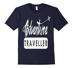 Adventure Traveller T-shirt   Available in multiple colors and Men, Women and Youth Sizes