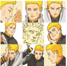 I prefer Kishimoto's art style but I still love Naruto ❤️ he still looks good compared to many of the characters in the Boruto manga Naruto Uzumaki Hokage, Anime Naruto, Hinata, Naruto Characters, Fictional Characters, Naruto Pictures, Naruto Pics, Naruto Family, Naruto Series