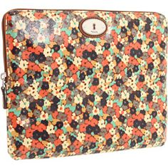 $32 Fossil laptop sleeve - Kitschy floral AND a reasonable price? Yes, please.