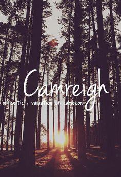 Camreigh - cute baby girl name!