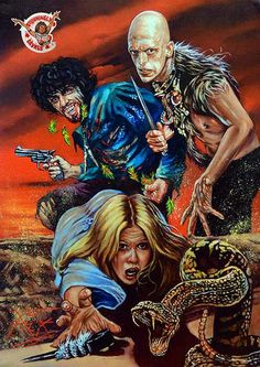 """johnny-dynamo: """"The Hills Have Eyes by Rick Melton """" All Horror Movies, Classic Horror Movies, Horror Show, Horror Movie Posters, Horror Films, Scary Movies, The Hills Have Eyes, Horror Themes, Horror Artwork"""