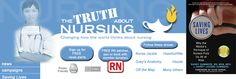 The Truth About Nursing: A site dedicated to honest portrayals of nurses in movies and on television.