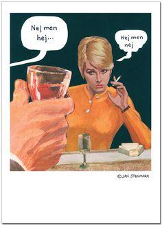 Affisch Jan Stenmark 'Hej' 50x70 cm