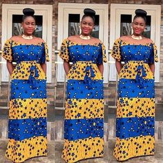 GET CREATIVE WITH THESE ANKARA AND SHEER LACE STYLES