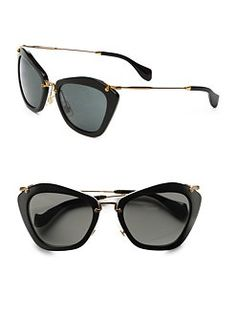 107c8baa254 These Miu Miu Glasses are awesome. Sunglasses Outlet