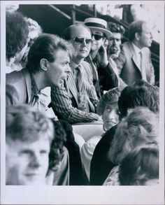 Vint '85 PRINCESS DIANA & DAVID BOWIE George Michael ELTON JOHN @ Live Aid Photo