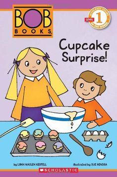 Scholastic Reader Level 1: BOB Books: Cupcake Surprise! by Lynn Maslen Kertell http://www.amazon.com/dp/0545382696/ref=cm_sw_r_pi_dp_vOCsub1VV4ZGV