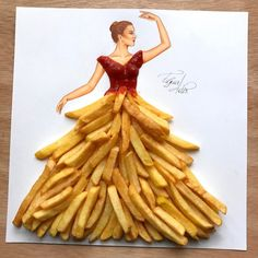 """83.7k Likes, 1,644 Comments - EdgaR_ArtiS (@edgar_artis) on Instagram: """"French fries   Hope you like it. Comment what you think about this one."""""""