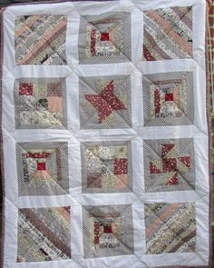 Millie's first quilt Small Groups, Workshop, Students, Colours, Quilts, Blanket, Sewing, Holiday Decor, Scrappy Quilts