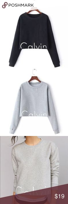 Calvin Klein Sweatshirt Pre-order •Sizes available in (S-XL) •Sizes run one smaller, so please choose a size up according to what size you meet fit. •❗️Available for purchase only through: closet-motif.com❗️ •There is free shipping on all orders •Item is reworked and NWOT Tags: Girls, Womens, Tommy Jeans, Hilfiger, Tank, Similar to: Adidas, Puma, Nike, Brandy Melville, Calvin Klein, Kylie, PINK, FOREVER21 Calvin Klein Sweaters