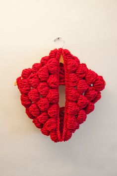 Crochet Bubble Cowl Pattern