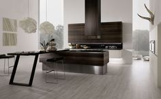 Rational Neos Bookmatched Smoked Oak