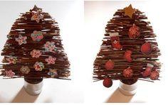 DIY: Árbol de Navidad con ramitas