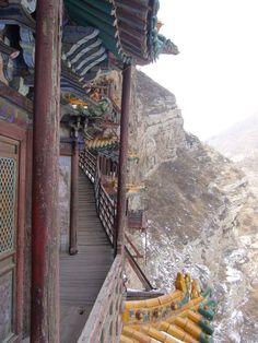 'The Hanging Temple Xuan Kong Si – Datong (China)  http://niceartlife.com/?p=978 ' #Places #China