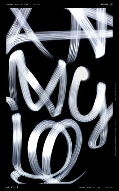 By Jessica Svendsen - Poster series for a lecture by photographer An-My Lê