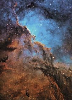 "The Fighting Dragons of Ara by Andrew Campbell.  Winner Deep Space category of David Malin Awards. ""The swirling, fragmented clouds of gas and dust in the Milky Way are always challenging to photograph, and this intriguing image captures its torn and fragmented structure beautifully, turning molecular clouds into a work of art."""