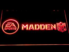 Madden NFL LED Neon Sign