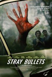 Stray Bullets (2016) Crime Drama Thriller.  In upstate New York, two teenage boys are tasked with cleaning out their father's old mobile home on an abandoned property, but the boys are in for a surprise when they discover three crooks on the run have taken refuge in the trailer.