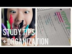 ▶ ♥ Back to School: How to get Straight A's + Study Tips! - YouTube