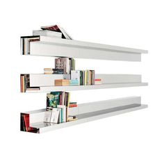 Doppiafila Wall Shelf by Mogg