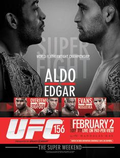 UFC featherweight champion Jose Aldo is back against former lightweight champion Frankie Edgar. Plus heavyweight superstar Alistair Overeem battles Antonio Silva and Rashad Evans takes on Rogerio Noguiera. UFC 156: Aldo vs. Edgar, Saturday, February 2, live on Pay-Per-View from Las Vegas. 8531 Santa Monica Blvd West Hollywood, CA 90069 - Call or stop by anytime. UPDATE: Now ANYONE can call our Drug and Drama Helpline Free at 310-855-9168.