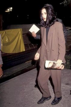 Winona Ryder - 1990's Style and Fashion Icon: Today, Winona Ryder is making headlines for her outstanding performance in Netflix's series Stranger Things, but she's been one of my favorite actress since the 90's. She starred in so many m…